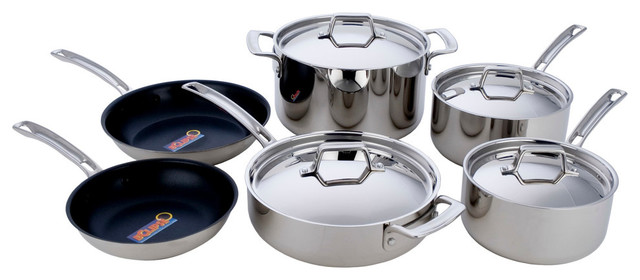 Miu France 10-Piece Cookware Set.