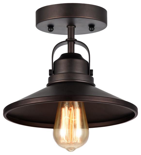 Nikki ceiling light fixture rubbed bronze industrial flush nikki ceiling light fixture rubbed bronze industrial flush mount ceiling lighting mozeypictures Gallery