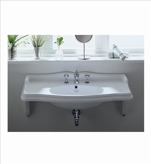 Attirant Whitehaus Ar864 Mnslen Wall Mount Bathroom Sink