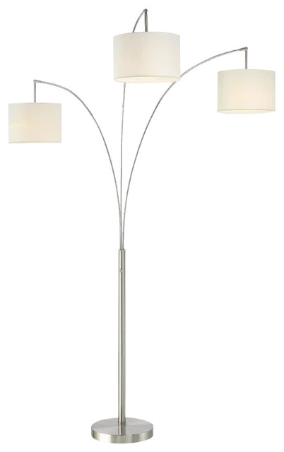 modern floor lumiere 80quot dimmer arched floor lamp modern floor lamps by