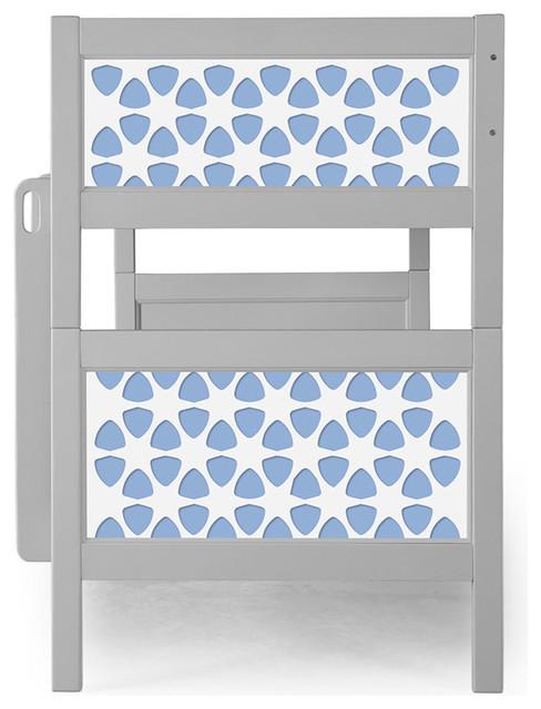 P&x27;kolino Pezzo Nesto Bunk Bed, Light Blue.