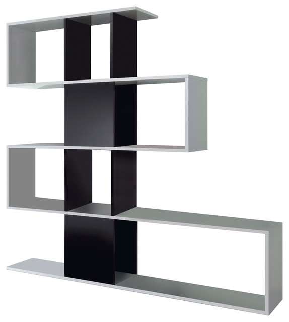 b19c2a89fb3 Zig-Zag Shelving Unit - Contemporary - Display   Wall Shelves - by FORES