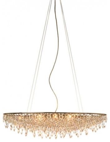 anthologie quartett rain chandelier oval modern lighting by interior deluxe. Black Bedroom Furniture Sets. Home Design Ideas