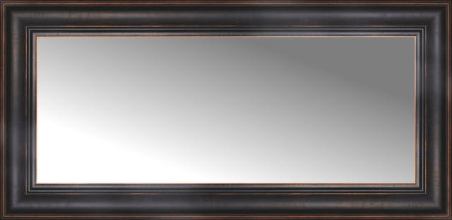 "36"" x 18"" Custom Framed Mirror - Traditional - Wall Mirrors - by Posters 2 Prints, LLC"
