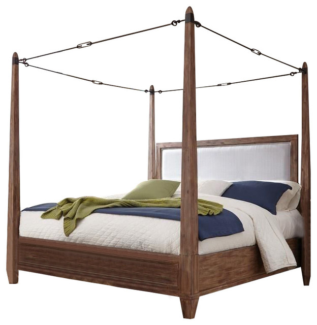 Archdale Canopy Bed, California King Size.