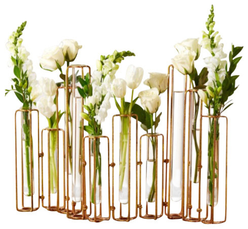 Hinged Flower Vase Contemporary Vases By The Grey Antler