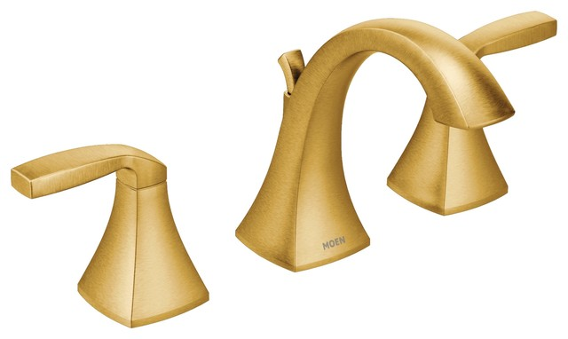 Moen Voss Brushed Gold Two Handle