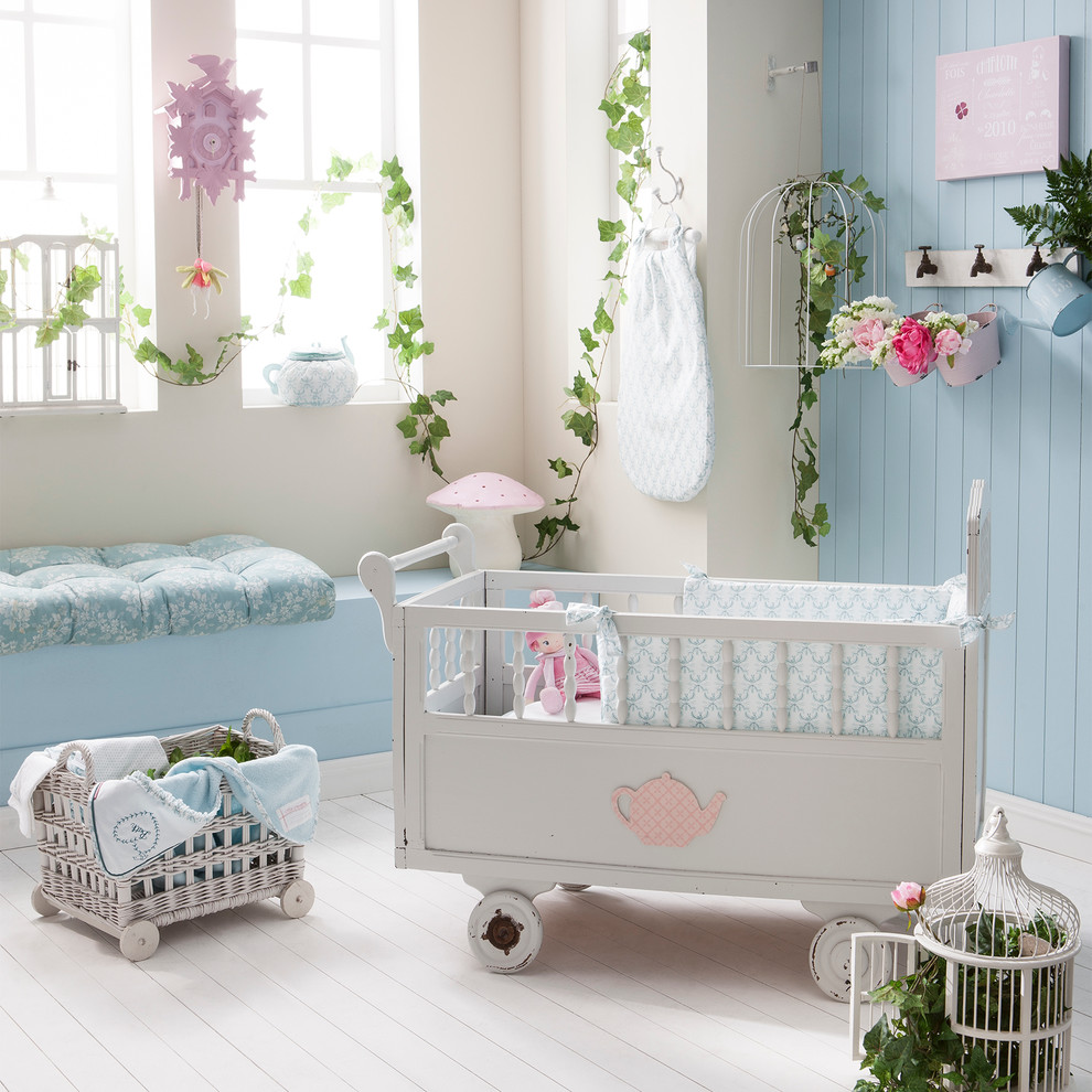 Chambre Style Shabby Chic chambre thème garden party - shabby-chic style - lille -