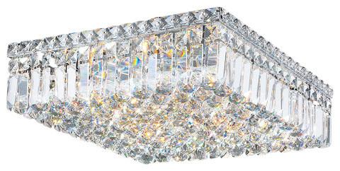 Worldwide Lighting W33518c16 Cascade 6 Light 16 Flush Mount Ceiling Fixture.