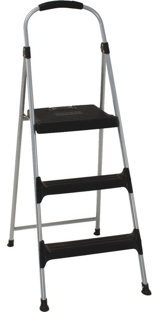 Cosco Home And Office Folding 3 Step Stool, 11-410-Pbl2.