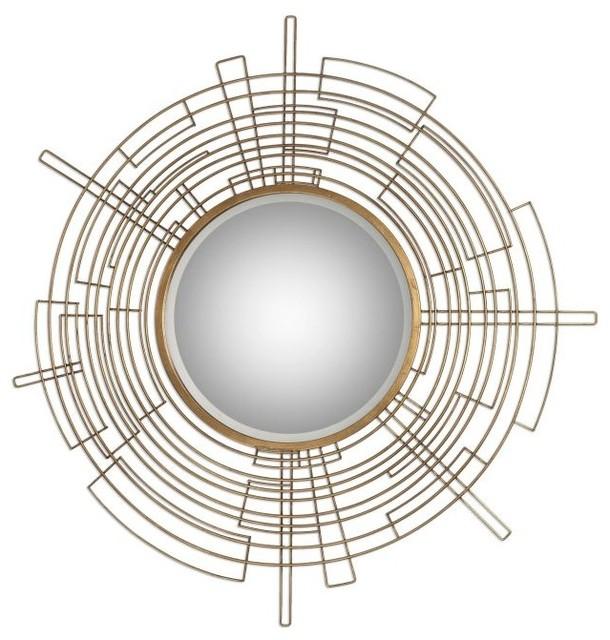 vector round modern mirror - Uttermost Mirrors