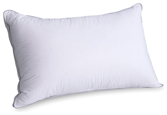 Sleep Air Down Memory Foam Pillow, Height Adjustable, Queen  Contemporary Bed Pillows