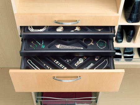 Custom Jewelry Closet Drawers & Vanchic Blog
