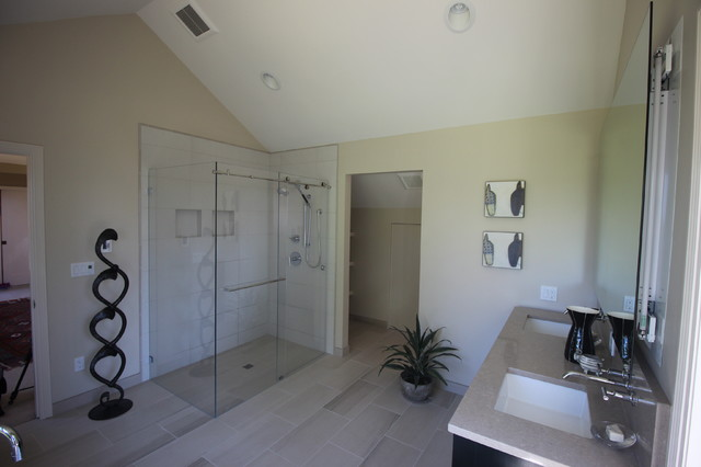edmonds wa master bath remodel modern bathroom