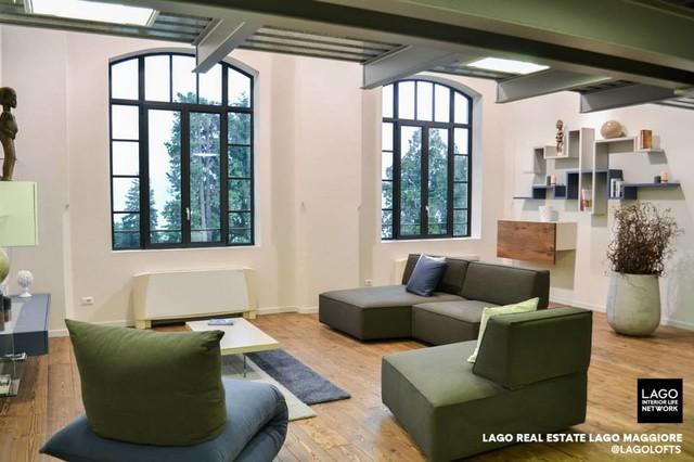loft sul lago maggiore - industriale - soggiorno - milano - di ... - Soggiorno Lago Maggiore