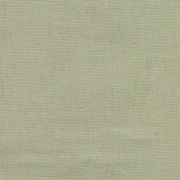 Leyte Sea Green Grasscloth Wallpaper