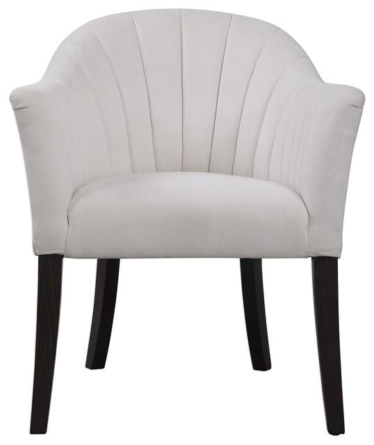 Tremendous Uttermost Lavana Barrel Accent Chair Short Links Chair Design For Home Short Linksinfo