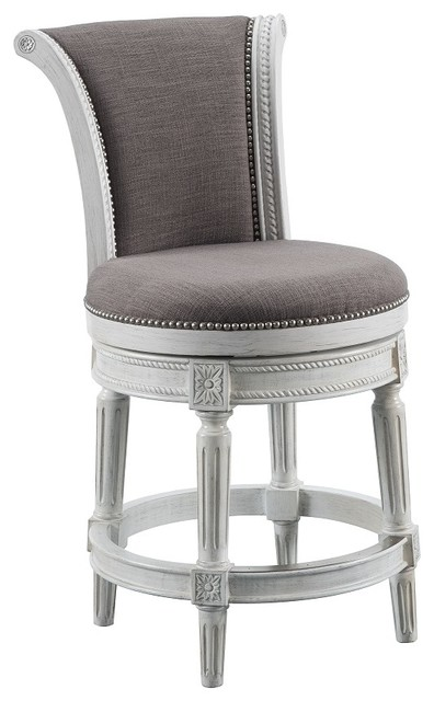 Celia Counter Stool Erin Pewter Bar Stools And Counter