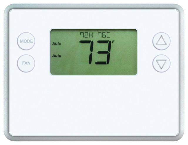 Gocontrol Gc-Tbz48 Z-Wave Battery-Powered Smart Thermostat.