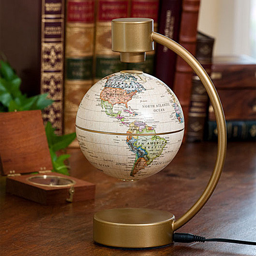 Floating Globe Desk Accessory