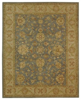 Safavieh rennes hand tufted rug traditional area rugs by buyarearugs for Images of couch for hall rennes