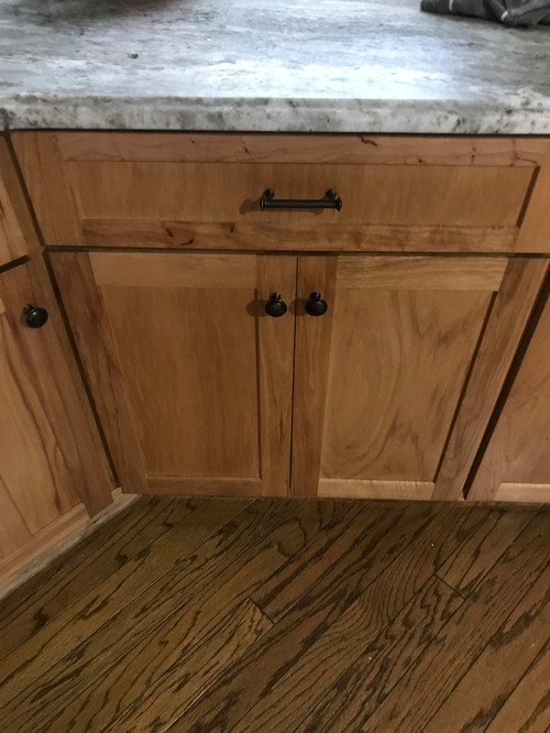 Paint Or Stain For Hickory Cabinets