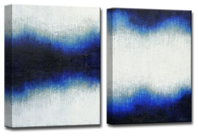 "Ready2HangArt 2-piece 'Currents and Tides' by Normanyatt Jr. Art 20"""