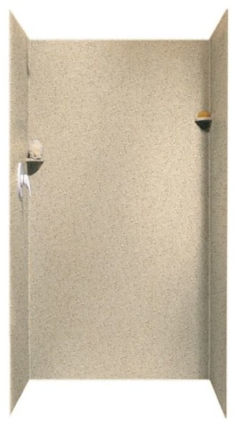 swan 36x36x72 solid surface shower wall surround contemporary shower stalls and kits by. Black Bedroom Furniture Sets. Home Design Ideas