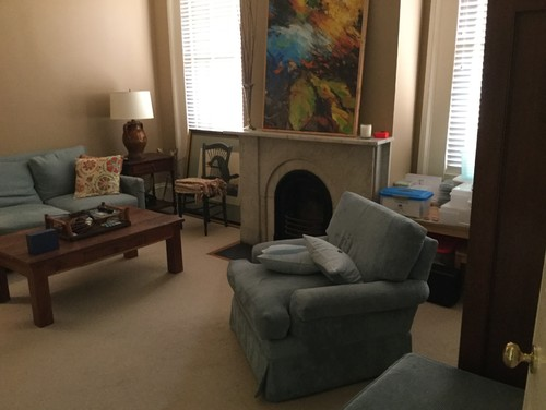 Tv room with tough floor plan makes furniture placement for Tv room furniture placement