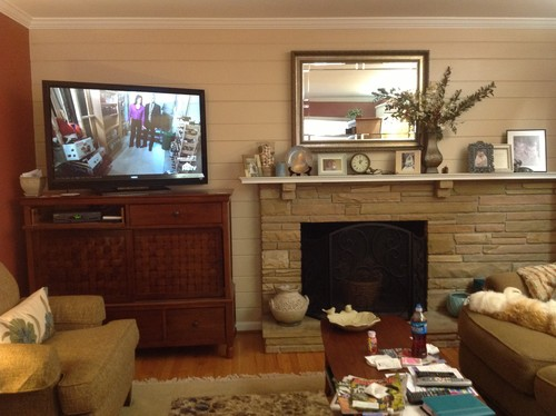 Off Center Fireplace Vs TV Cabinet Advice Needed
