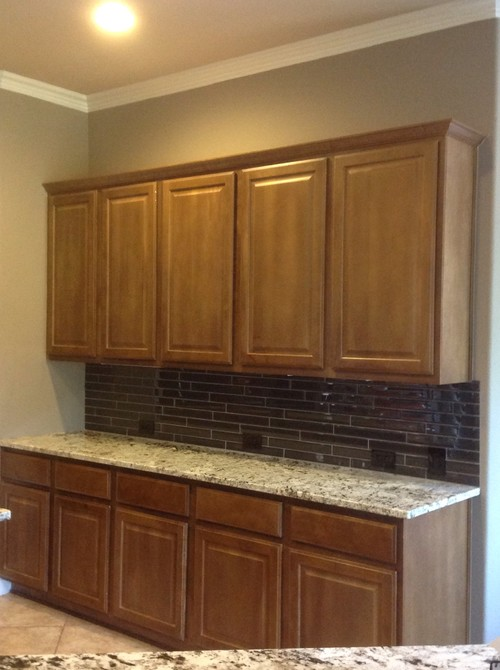 Updating Our Kitchen Cabinets   Clear Or Frosted Glass? Part 50