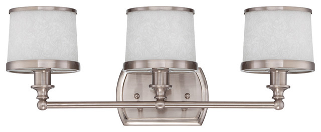 transitional bathroom lighting craftmade 14822bnk3 3 light vanity fixture transitional 14805