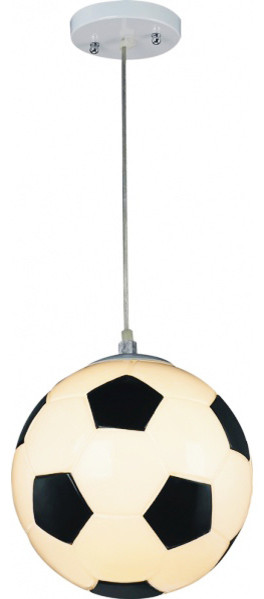 Soccer Ball Light Fixture With Adjustable Cord Contemporary Kids Ceiling Lighting By Design Living