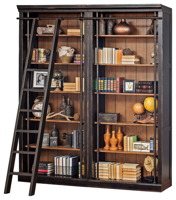 Toulouse Metal Ladder Traditional Bookcases