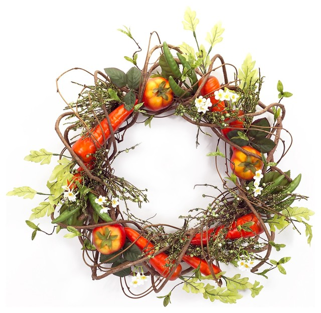Vegetable Wreath Wreaths And Garlands By Melrose
