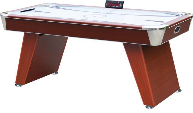 Playcraft Derby 6u0027 Air Hockey Table / Cherry Contemporary Game Tables