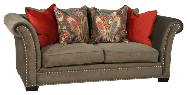 Braxton Apartment Size Sofa - Sofas - by Fairmont Designs