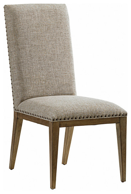 Devereaux Upholstered Side Chair Transitional Dining Chairs By Lexington Home Brands