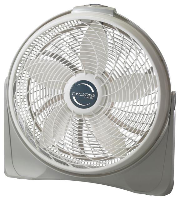 "20"" Diameter Cyclone Pivot Fan."