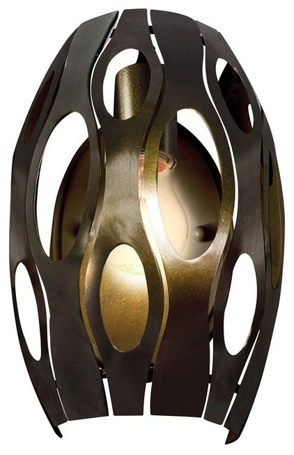 Varaluz Lighting 149w01sg Masquerade 1 Light Wall Sconce Contemporary Wall Sconces By 1stoplighting
