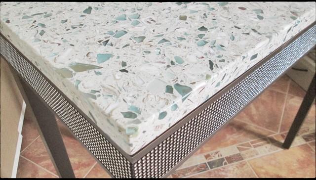 Vetrazzo Installed Emerald Coast Contemporary Austin