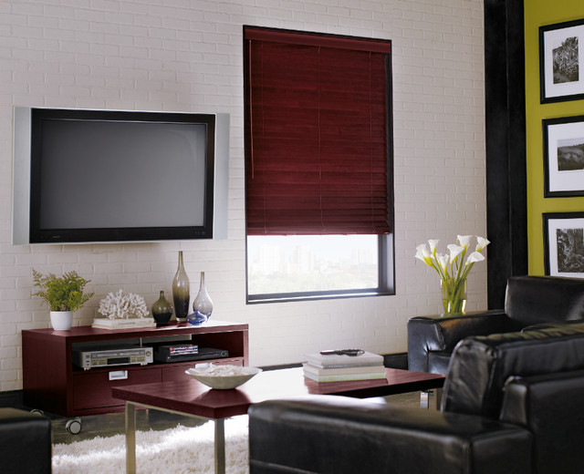 """Levolor 2"""" Premium Wood Blinds From Blinds.Com - Contemporary"""