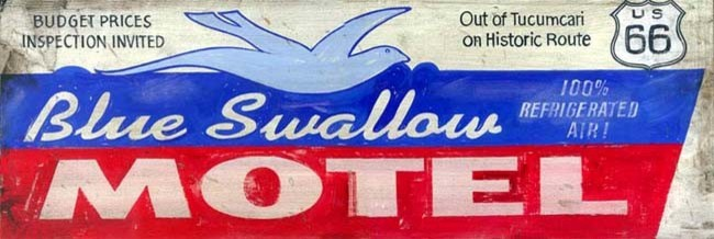 retro vintage signs blue swallow motel nostalgic sign rustic novelty signs by my barnwood frames houzz