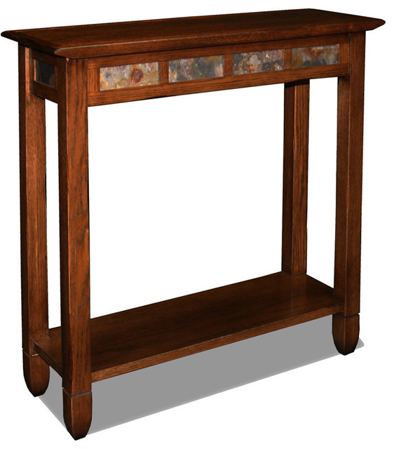Leick Mission Chair Side End Table Slate