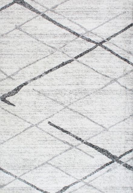 Coffield Rug, Gray, 5&x27;x8&x27;. -1