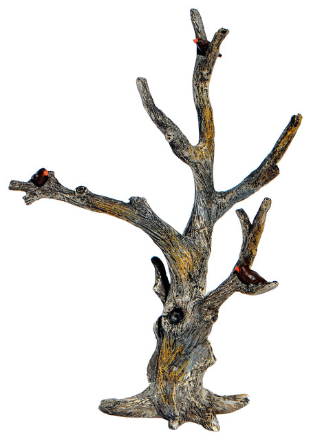 Fairy Tree For Miniature Garden, Fairy Garden Rustic Decorative Objects And