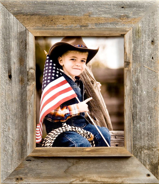 cowboy picture frame 9x12 rustic picture frames