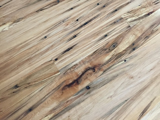 Reclaimed Wood Tap Hole Maple Flooring Sample