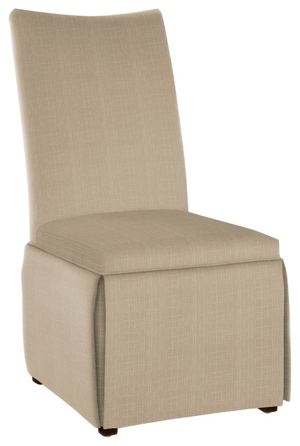 hekman woodmark elise dining chair medium white