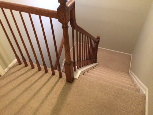 How To Install Laminate Under Balusters Spindles That Go